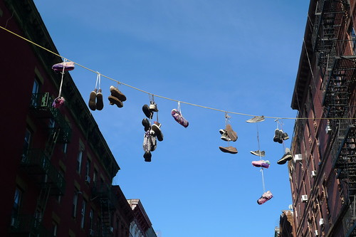 shoe-cozies, lower east side