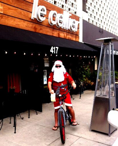 Santa Busted in Venice Beach