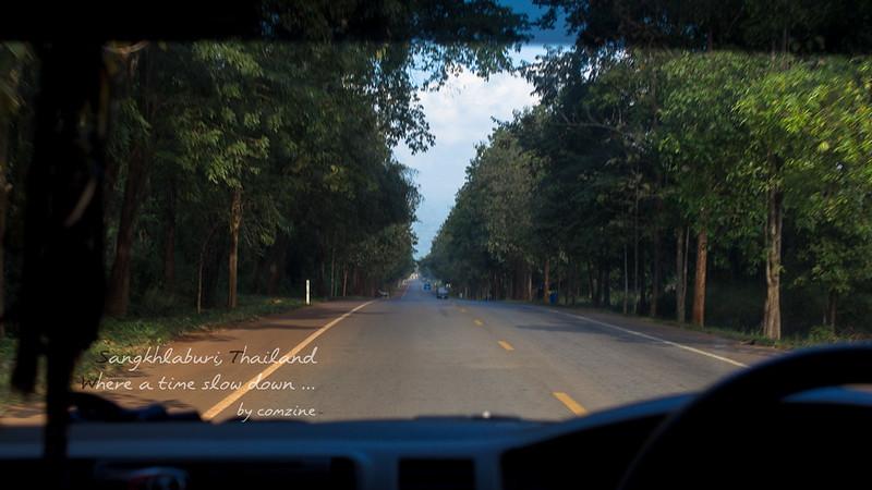 เส้นทางรถตู้ กาญจนบุรี-สังขละบุรี