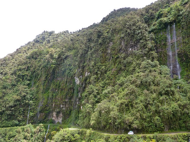 The north yungas road aka the world s most dangerous road flickr