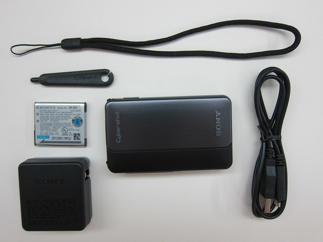 Sony Cyber-shot DSC-TX20 - Box Contents