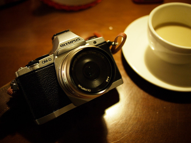 E-M5 + M.ZD 17mm f/1.8