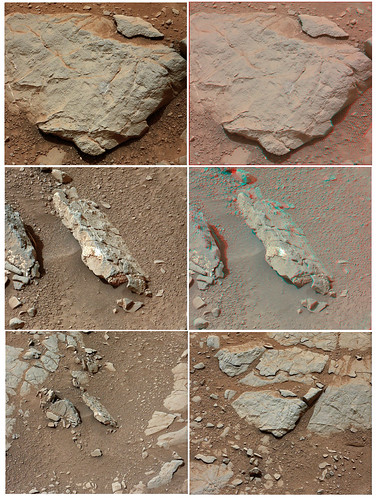 CURIOSITY sol 135 mastcam L R anaglyph
