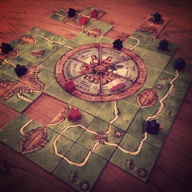 Carcassonne: wheel. of. fortune.