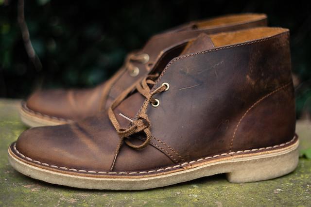 Clarks Originals Desert Boots Beeswax