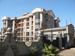 A block of flats in Kileleshwa, a smart, middle-class area in Nairobi, Kenya. Credit: Brian Ngugi/IPS