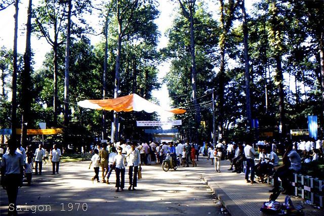 SAIGON 1970 (21) - Vườn Tao Đàn