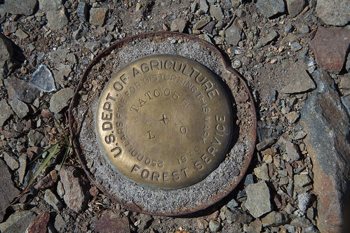 Tatoosh Peak benchmark