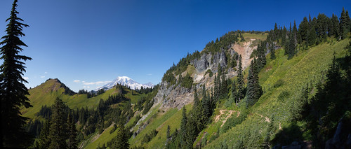 Tatoosh Wilderness panorama