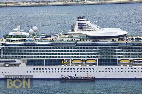 barco em Barcelona