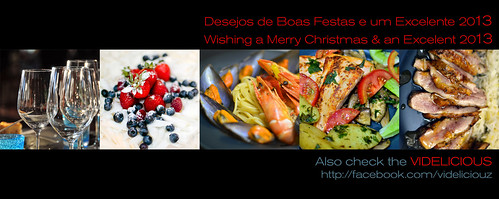 Photolicious wishing Happy Holidays and a Delicious 2013 by Hugo Alexandre Cruz
