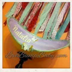 Belly Bowl ~ butterflies
