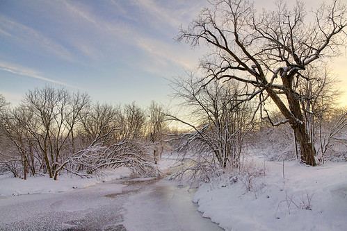 morning trees winter sun snow cold nature water creek sunrise river stream wi sugarriver canonefs1585mmf3556isusm