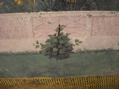 The Garden Painting of the Villa of Livia at Prima Porta in Rome (30-20 BC) - Archaeological Museum Palazzo Massimo - Rome