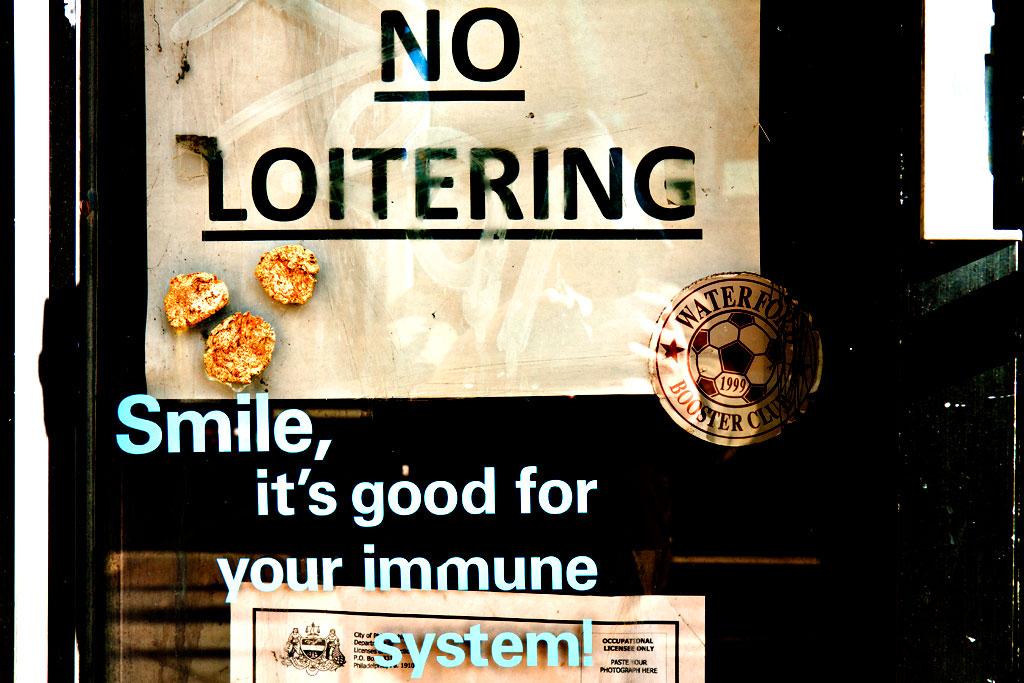 NO-LOITERING-Smile--Center-City