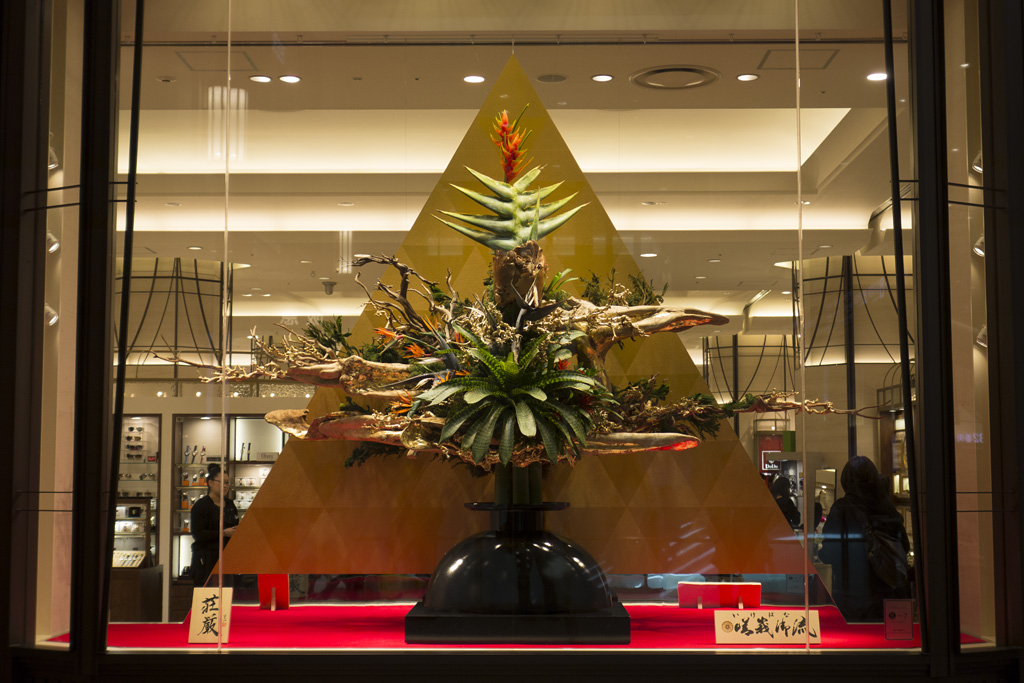 the display for New Year at Hankyu Department Store (3)