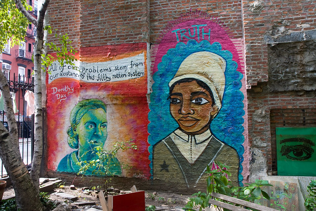Sojourner Truth, Lower East Side Girls Club Garden