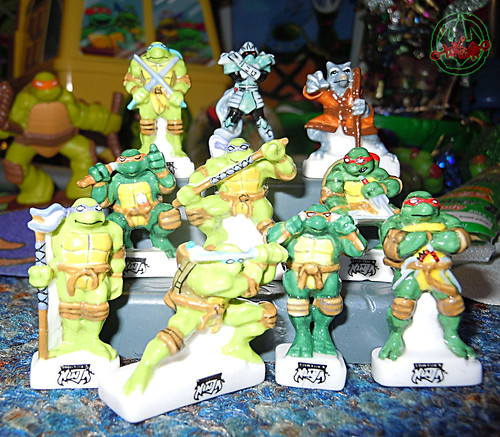 PRIME :: TORTUES NINJA  porcelain miniature prototypes i (( 2009 ))