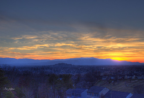 blue homes sunset sky mountain mountains clouds landscape virginia december hill hills ridge roanoke terry round hdr hollins aldhizer terryaldhizercom