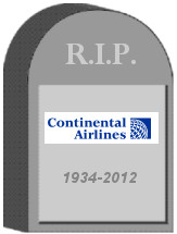 Continental Tombstone