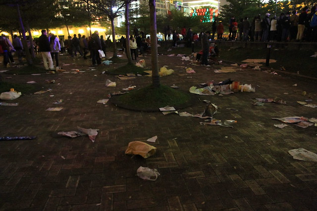 2013台北市跨年晚會垃圾-69-201301010109-賴鵬智攝