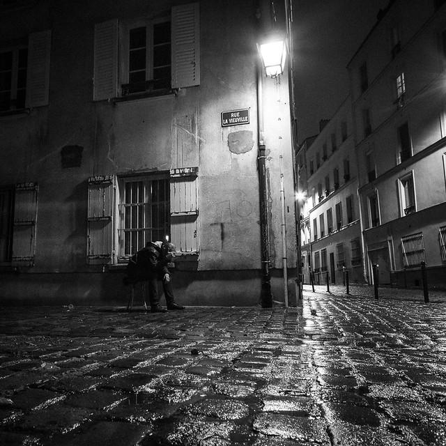 Rue La Vieuville, Montmartre, par Franck Vervial