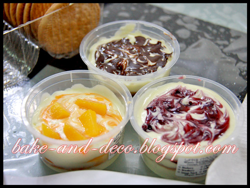 Baking Class: Lapis Cheezy & Tytty Fruity Cream Dessert ~ 20 June 2012