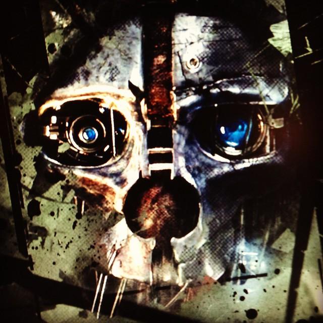 Dishonored skull