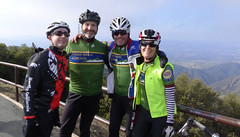 Diablo new years ride Steve, Dan, Curtis, Tricia