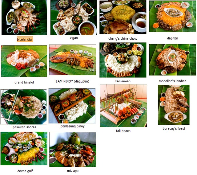 15 Boodle Feast Sets