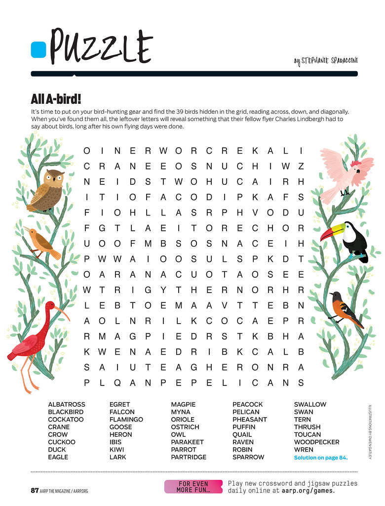 Aarp Daily Jigsaw Puzzle Learn More About Us