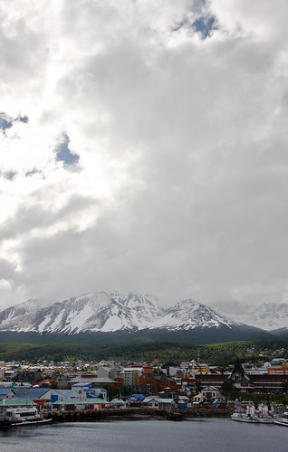 The southest city of the world, Ushuaia, Tierra del Fuego