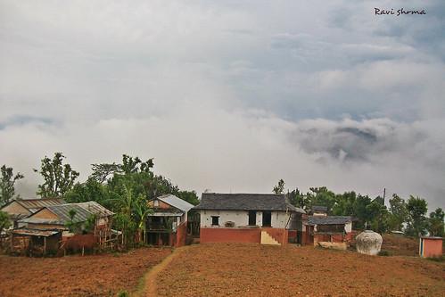 nepal friends sky cloud house love village january kura kurra arghakhanchi ravisharma sandikharka