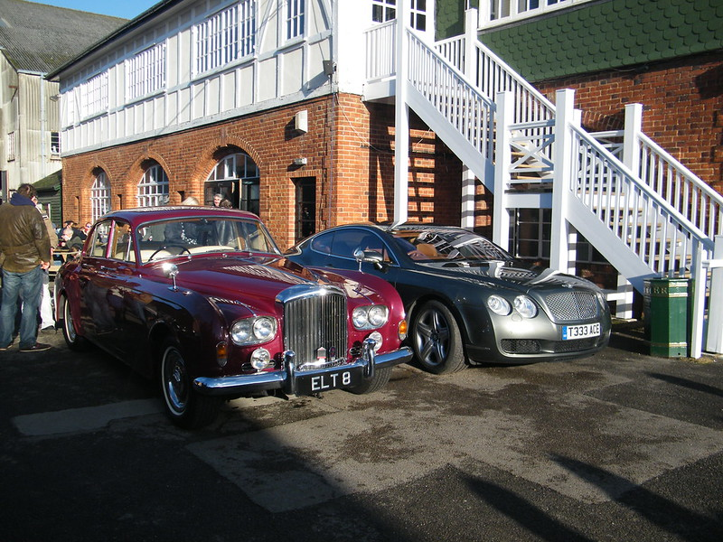 Brooklands New Year's Day 2013 - Bentleys