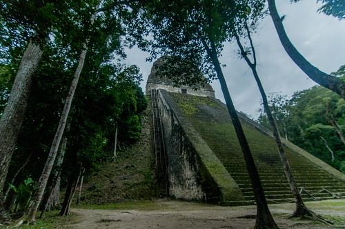Temple IV, Tikal National Park, Guatemal