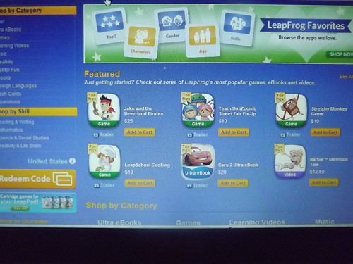 LeapFrog Connect Apps Store