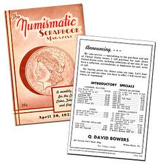 Numismatic Scrapbook Bowers ad