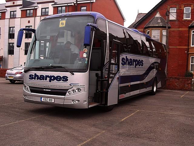 Sharpes of Nottingham KBZ801 ex FN04JZF