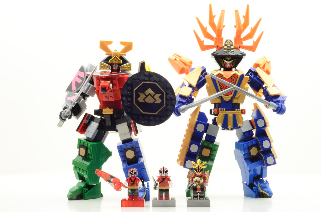Power Ranger Samurai Megazords