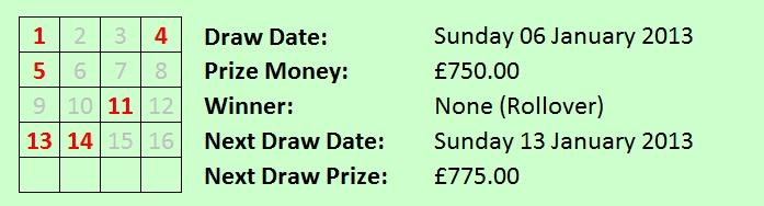 Dock Lottery 06012013