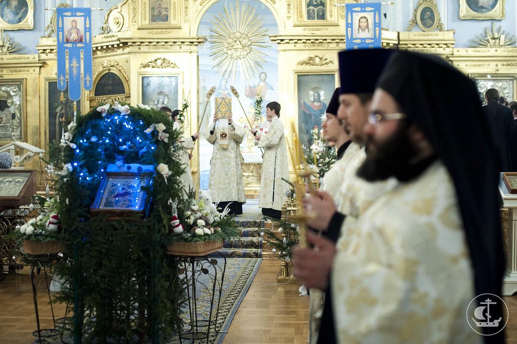 6 января 2013, Всенощное бдение накануне Рождества Христова