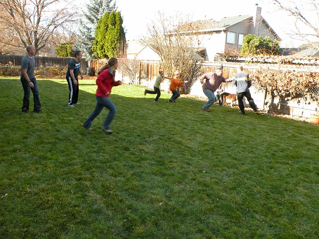 Biggest Backyard Football Hits : backyard football thanksgiving 2012 flickr photo sharing backyard