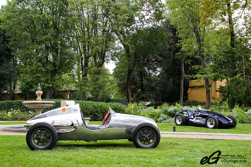Cooper Mk4 F2 & Connaught A Type by Raphaël Belly