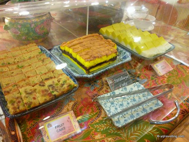 Nyonya cakes