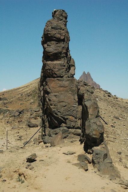 Minette dike & Ship Rock volcanic neck, 27-32 Ma, Oligocen ...