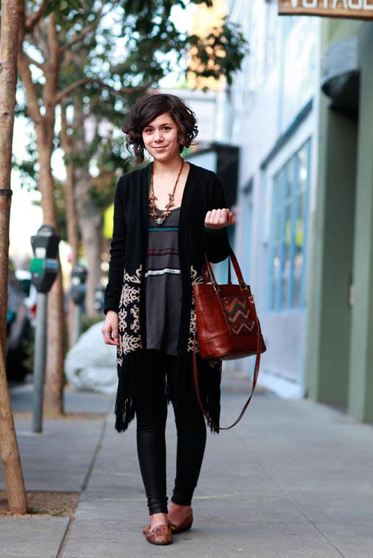 gabriele street style, street fashion, women, San Francisco, Valencia Street