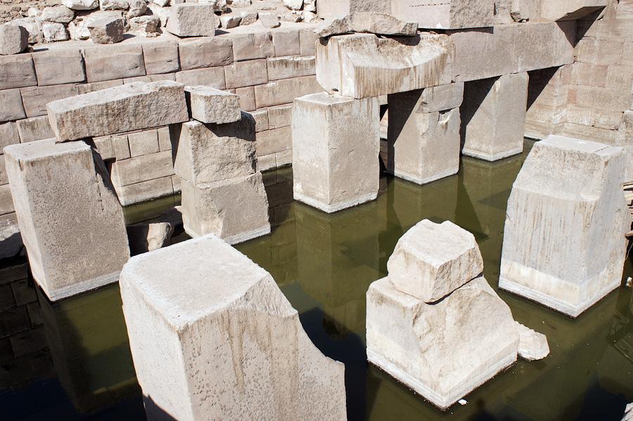Осирион, Абидос, Египет