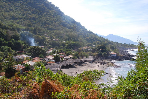 The village of lembata, Indonesia, in Lembata