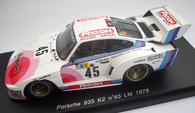Porsche 935 #75 Dnf Lm 1982 C Hesnault 1:43 Model S4429 Haldi// R Teran // F
