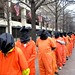 Guantánamo protestors outside FBI HQ